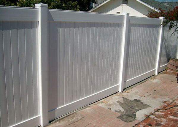 Vinyl Privacy Fences Gallery Los Angeles County Ca