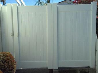 Custom Vinyl Fence Gate Contractor Los Angeles County Ca