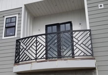 Balcony Railing in Santa Ana, CA