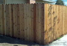 Custom Designed Wooden Fencing