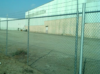 Commercial Barbed Wire Fencing