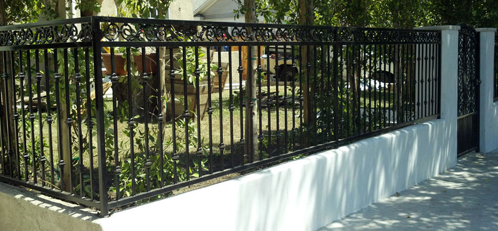 wrought iron fence installation. Affordable Wrought Iron Fencing Fence Installation