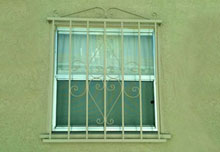 Custom Made Iron Window Grates