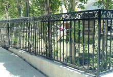Harbor City Iron Fence