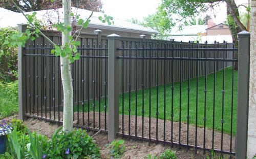 trex privacy fence garden composite fencing custom iron fence los angeles - Composite Fencing