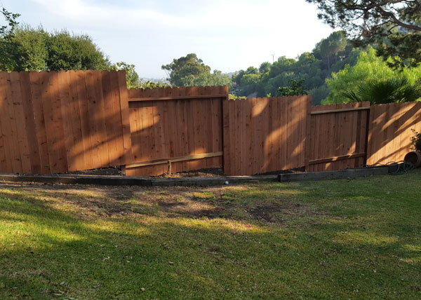 Custom Wood Fencing in Palos Verdes, CA