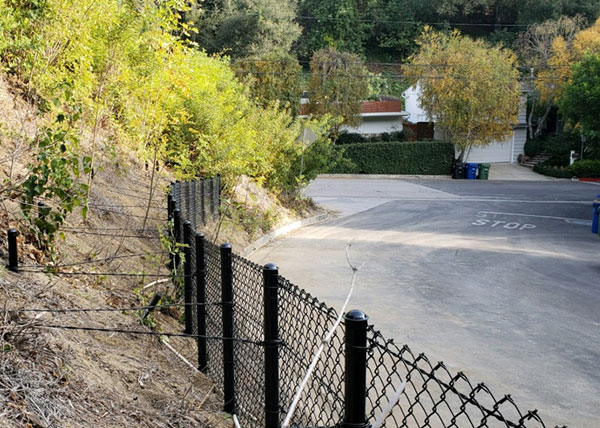 Chain Link Fence in Beverly Hills, CA