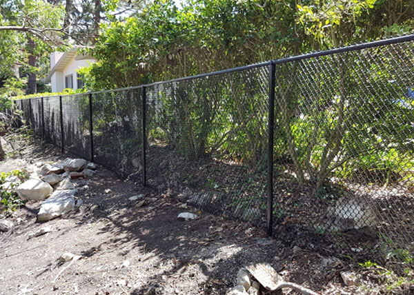 Chain Link Fence in Rolling Hills Estates, CA