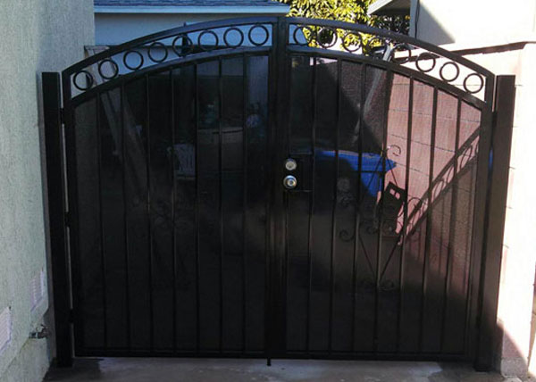 J Amp J Fence Wrought Iron Fence Gallery Iron Fence