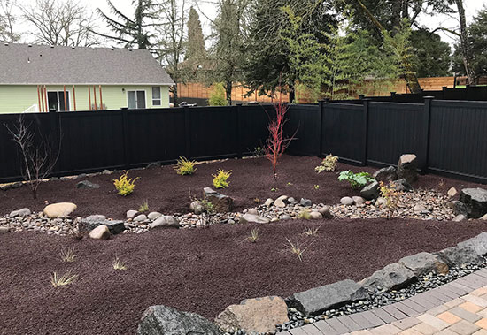 Long-Lasting Black Vinyl Fences