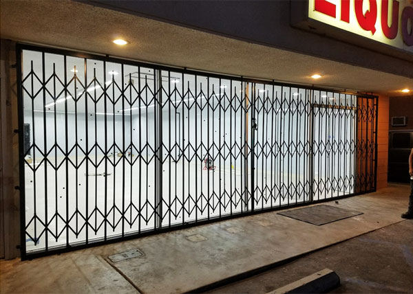 Iron Folding Gate in Buena Park, CA