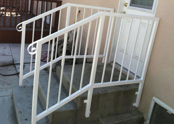 Commercial Wrought Iron Handrails Hawthorne, CA