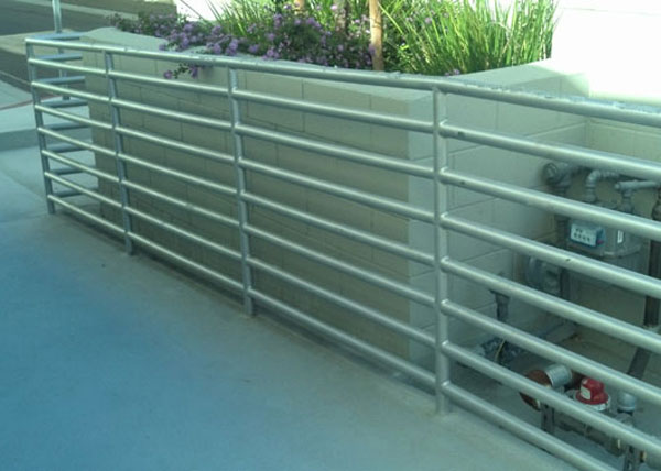 Commercial Ramp Railing in West Hollywood, CA
