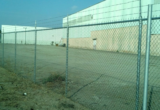 Commercial Safety Chain Linked Fence