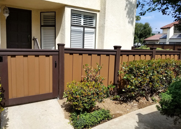 Trex Composite Fence Installation