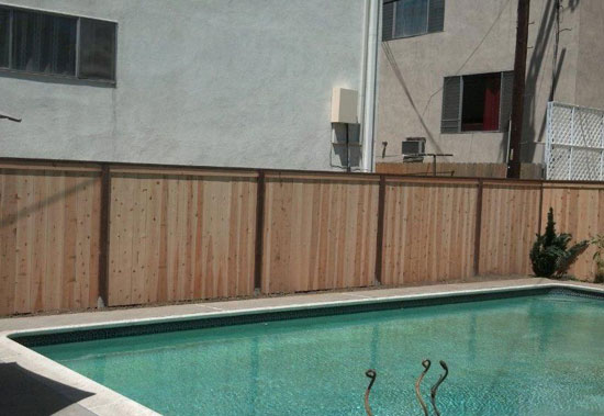 Swimming Pool Fence Installation