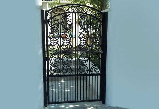 Home Wrought Iron Gate