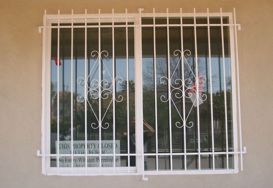 Window Safety Iron Bars
