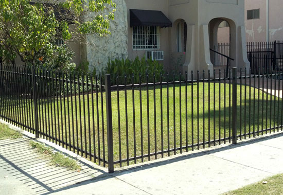 LA Residential Yard Fence