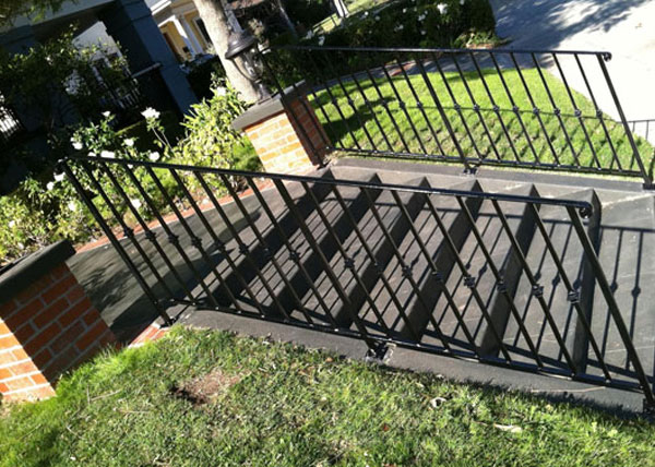 Los Angeles, CA Iron Handrails for Stairs & Balconies