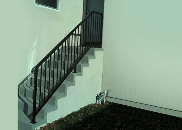 Home Wrought Iron Handrails in Placentia