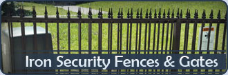Handcrafted Security Iron Gate