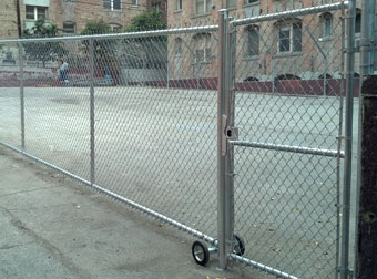 Industrial Security Chain Fencing