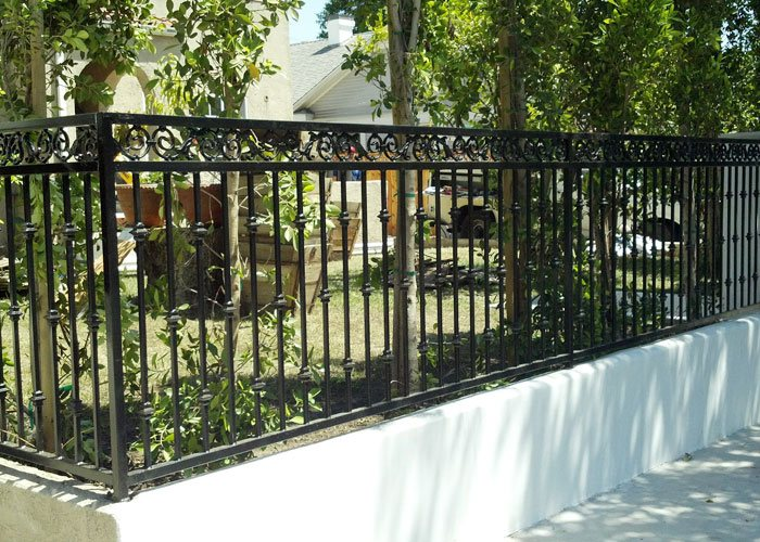 Lakewood Rod Iron Fencing