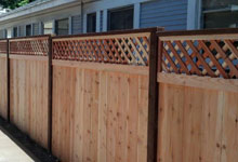 Affordable Gardena Wood Fence
