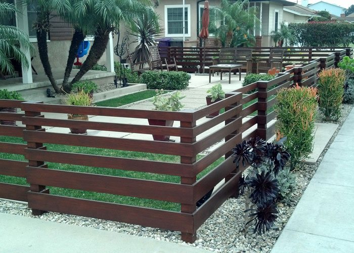 Home Outdoor Modern Fencing