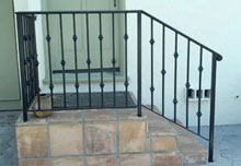 Ornamental Iron Railings
