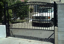 Cast Iron Security Gate