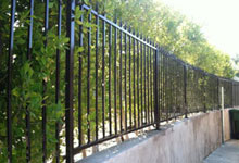 Beverly Hills Wrought Iron Fencing