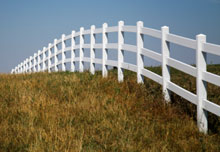 Los Angeles Ranch Rail Fencing