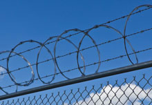 Residential Razor Wire Fence
