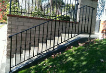 Outdoor Stair Railings