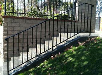 Ornamental Amp Wrought Iron Stair Railing Balcony