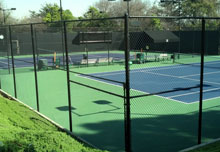 Tennis Court Security Fencing