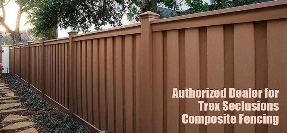 Trex Seclusions Fence Installation