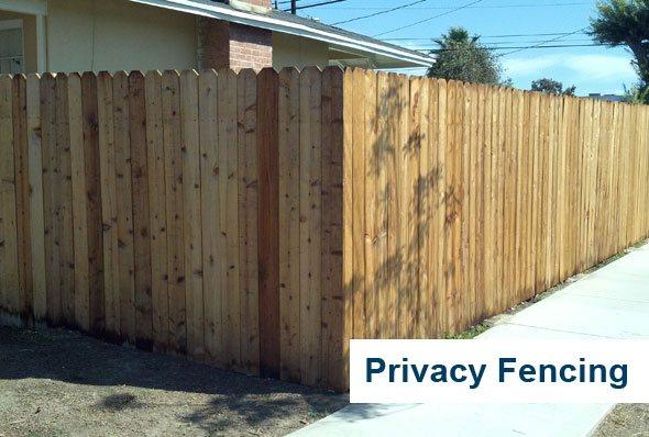 Los Angeles Vinyl Fence Gate Wood Picket